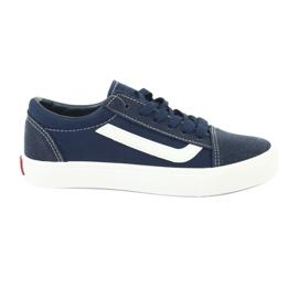 AlaVans Atletico 18081 navy tied sneakers