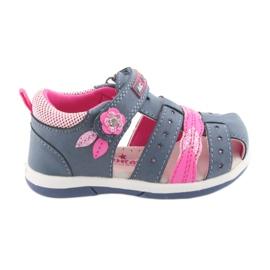 American Club American DR18 denim girls' sandals