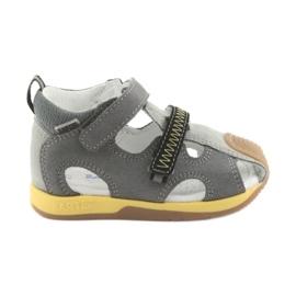 Sandals boys' turnips Bartek 81772 gray
