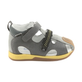 Sandals boys' turnips Bartek 81772 gray