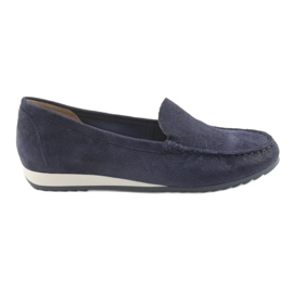 Navy Loafers Caprice 24211