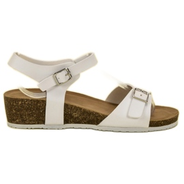 Seastar Classic Wedge Sandals white