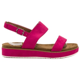 Goodin pink Fuchsia Sandals