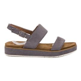 Goodin grey Gray Sandals