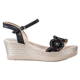 Kylie Casual Sandals black
