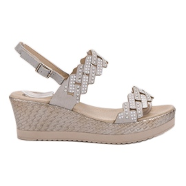 Aclys grey Light Sandals on Wedge