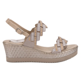 Aclys brown Light Sandals on Wedge