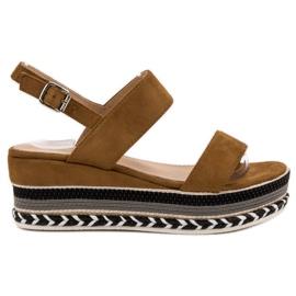 Primavera brown Sandals Boho Wedge