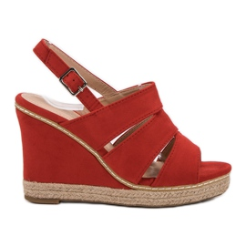 Primavera Red Sandals