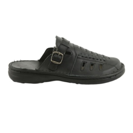 Naszbut Men's slippers 047 black