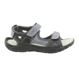 Naszbut Velcro leather sandals 043
