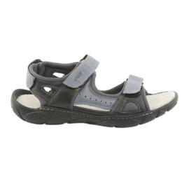 Naszbut Velcro leather sandals 043