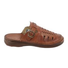 Naszbut Men's slippers 0buck beige 044 brown