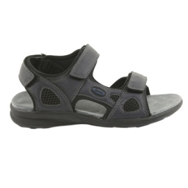 American Club navy American HL08 youth athletic sandals