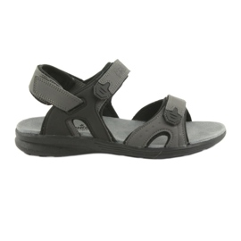 American Club American HL09 black / gray sports sandals