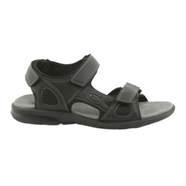 American Club American HL06 black sports sandals
