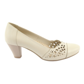 Women's pumps Gregors 745 beige brown