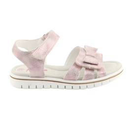 Sandals pink American Club GC25 bow