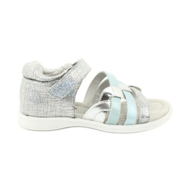 Girls' sandals with American Club GC26 heel