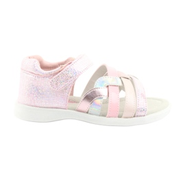 American Club GC26 pink girls' sandals