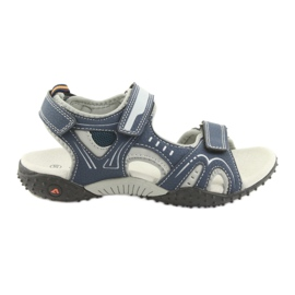 Boys' sandals American Club RL18 navy