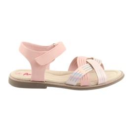 Sandals metal girls American Club GC23 pink