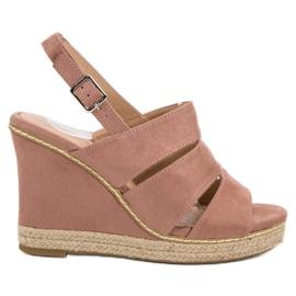Primavera pink Powdery Sandals