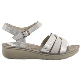 Evento Silver Sandals grey