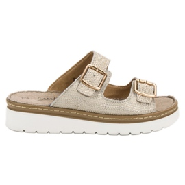 Filippo Comfortable Leather Slippers