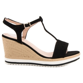 Anesia Paris Light Black Sandals