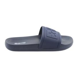 Big Star Flip-flops 274A269 navy blue
