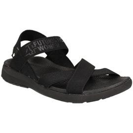 4F Sandals W H4L19-SAD002 20S black