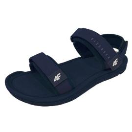 Sandals 4F M H4L19-SAM001 30S navy blue