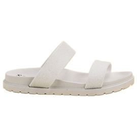 Seastar Shiny Slippers white