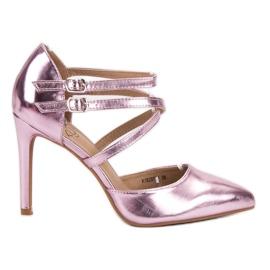 Kylie pink Shiny Fashion Studs