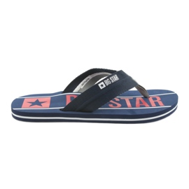 Men's Belts Big Star 174658 navy blue