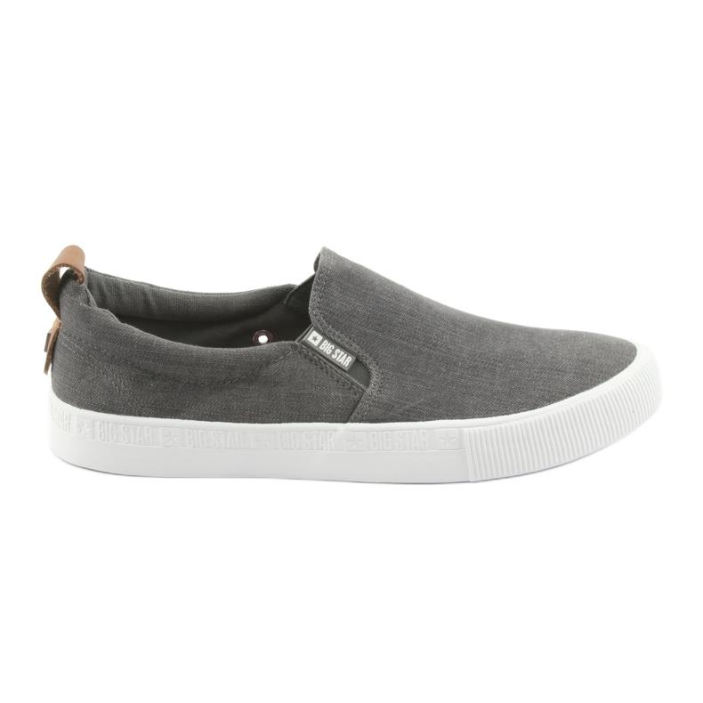 Big Star 174162 slip-on sneakers grey