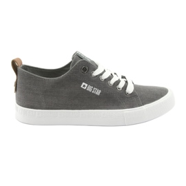 Men's gray sneakers Big Star 174165 grey