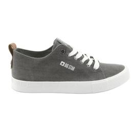 Men's gray sneakers Big Star 174165 grey