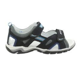 Sandals boys' turnips Bartek 19176 navy-gray