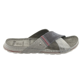Men's gray Inblu GG009 slippers