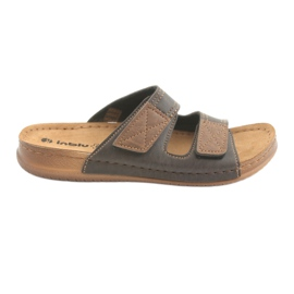 Men's shoes Inblu TH015 brown