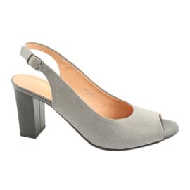 Espinto S274 women's outdoor sandals gray grey