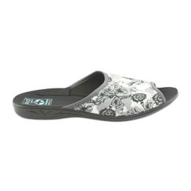 Women's slippers Adanex 23981 gray