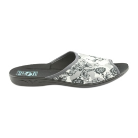Women's slippers Adanex 23981 gray