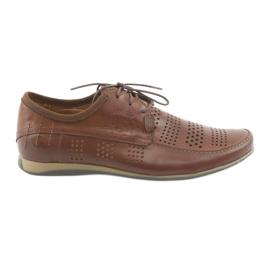 Men's sports shoes Riko 694 brown
