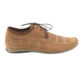 Men's sports shoes Riko 694 light brown