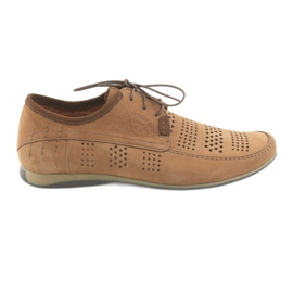 Men's sports shoes Riko 694 light brown