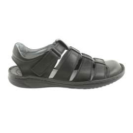 Men's sports sandals Riko 619 black