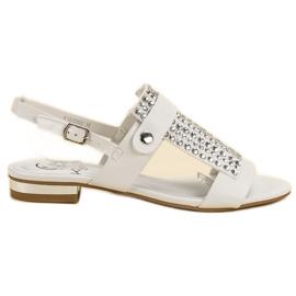 Kylie White Women's Sandals